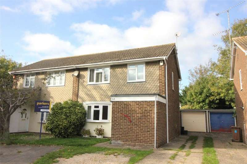 3 Bedrooms Semi Detached House for sale in Lunds Farm Road, Woodley, Reading, Berkshire, RG5
