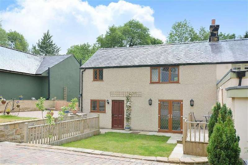 2 Bedrooms Semi Detached House for sale in Ivy Cottage, Hard Meadow Lane, Ashover, Chesterfield, Derbyshire, S45