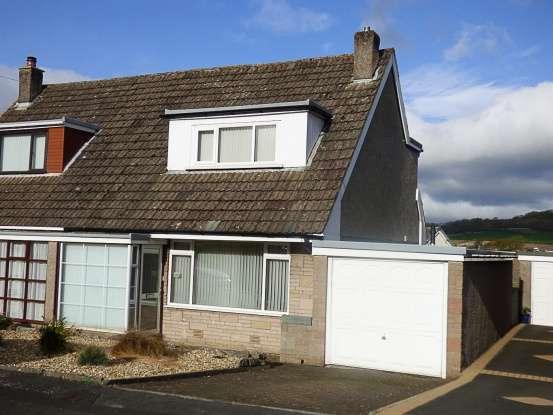 2 Bedrooms Semi Detached House for sale in Hazelmount Drive, Carnforth, Lancashire, LA5 9HU