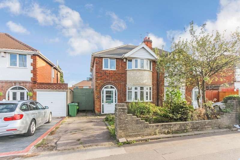 3 Bedrooms Semi Detached House for sale in Narborough Road South, Leicester, LE3