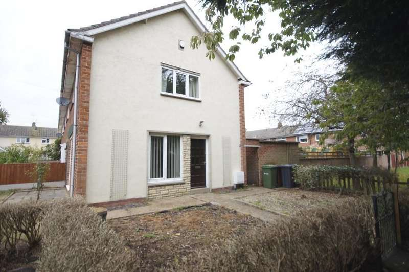 2 Bedrooms Semi Detached House for sale in Rosewood Close, Lincoln