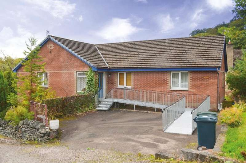 4 Bedrooms Detached Bungalow for sale in Smiddy Road, Garelochhead, Argyll Bute, G84 0FW