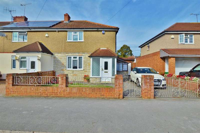 3 Bedrooms End Of Terrace House for sale in St. Elmo Crescent, Slough