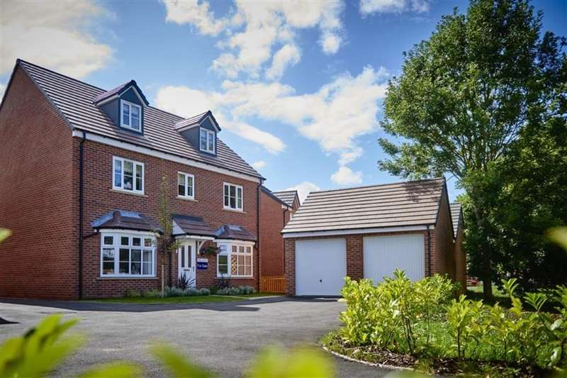 5 Bedrooms Detached House for sale in Caddies Field Golf Links Lane, Wellington, Telford, TF1