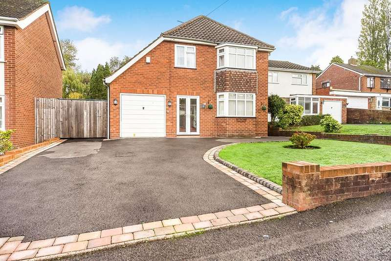 3 Bedrooms Detached House for sale in Quentin Drive, Dudley, DY1