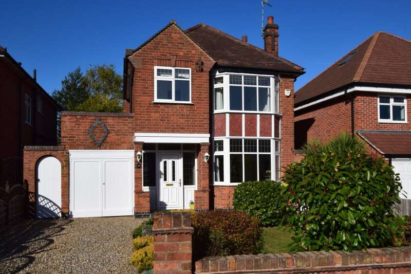3 Bedrooms Detached House for sale in Oakfield Avenue, Birstall, Leicester, LE4