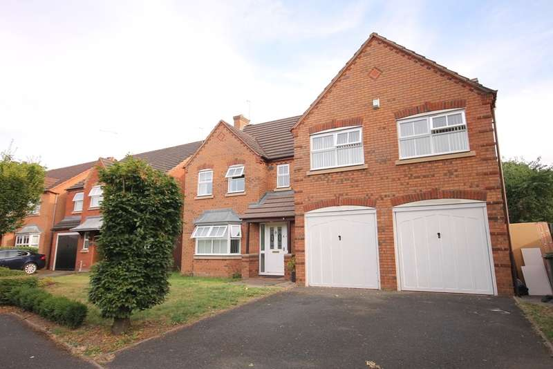 5 Bedrooms Detached House for sale in Thetford Avenue, Worcester, WR4