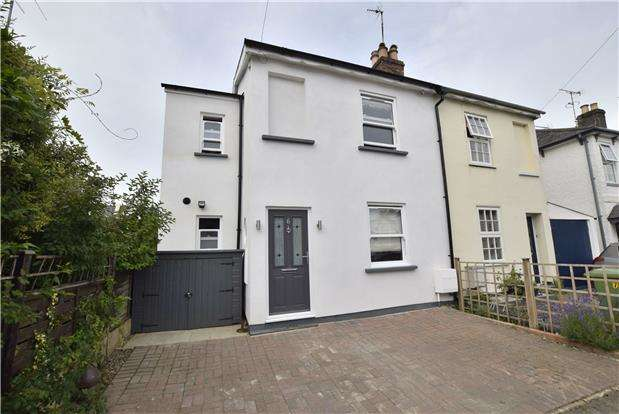 3 Bedrooms Semi Detached House for sale in Hambrook Street, Charlton Kings, Cheltenham, Gloucestershire