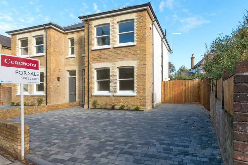 4 Bedrooms Semi Detached House for sale in Shepperton