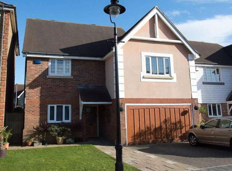 4 Bedrooms Detached House for sale in Kensington, Silver Wharf, North Harbour, Eastbourne, BN23