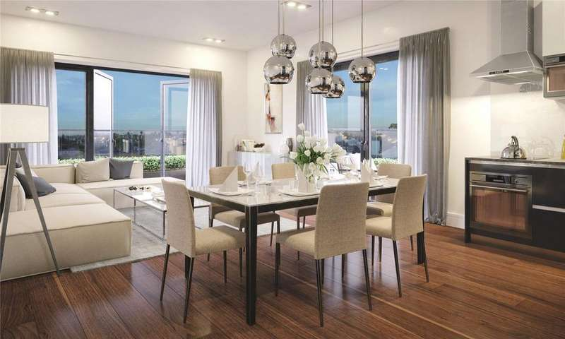 2 Bedrooms Flat for sale in Stadia Three, Wimbledon, SW17