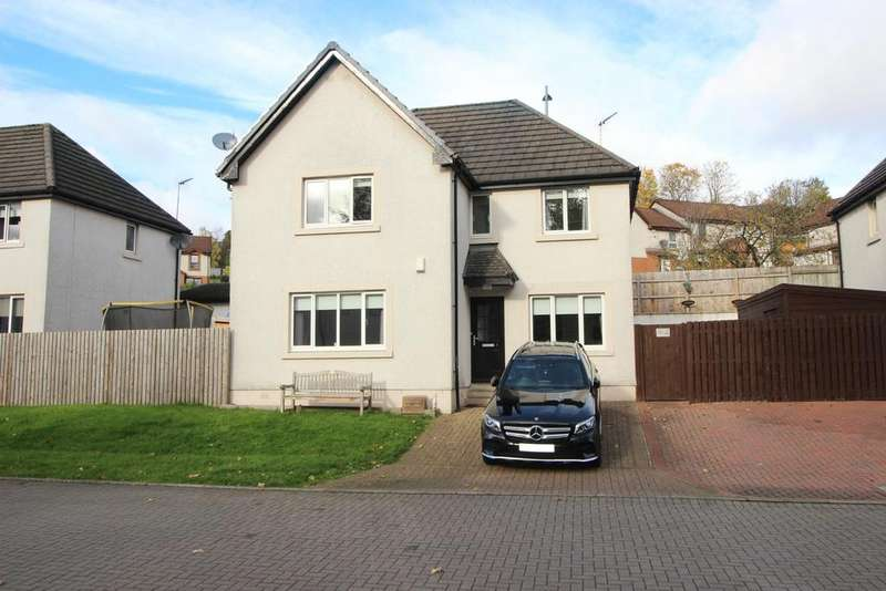 4 Bedrooms Detached House for sale in 3 Roman Court, Hardgate, G81 6BU