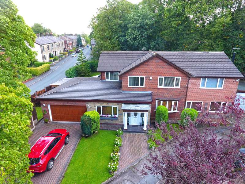 4 Bedrooms Detached House for sale in Rhodes Hill, Lees, Oldham, Greater Manchester, OL4
