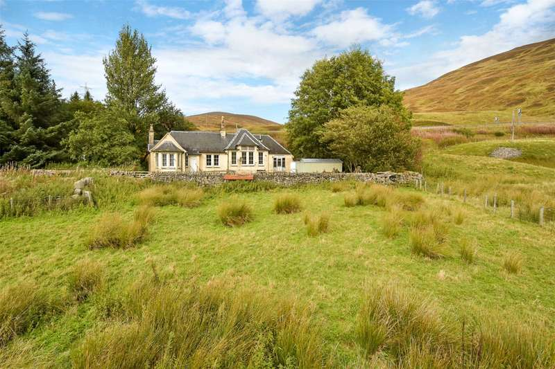 3 Bedrooms Detached House for sale in The Schoolhouse, Dalnaspidal, Pitlochry, Perthshire, PH18