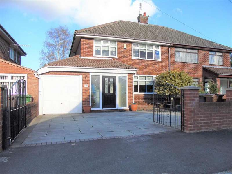 3 Bedrooms Semi Detached House for sale in Taunton Drive, Liverpool