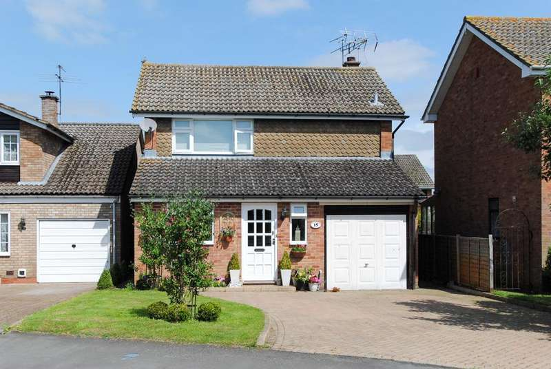 3 Bedrooms Detached House for sale in Wagstaffe Close, Harbury, Leamington Spa