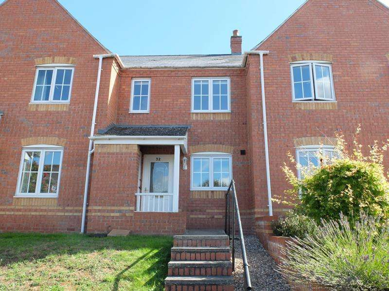 2 Bedrooms Terraced House for sale in 32 Masefield Avenue, Ledbury, Herefordshire, HR8 1BW