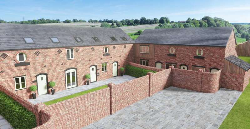 3 Bedrooms Barn Conversion Character Property for sale in Barn 2, Oscroft Farm, Tarvin, CH3 8NW