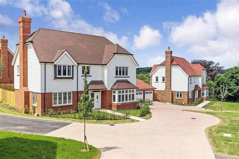 4 Bedrooms Detached House for sale in Newick Hill, Ghyll Croft, Newick, Lewes, East Sussex