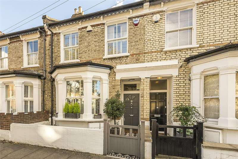 4 Bedrooms Terraced House for sale in Swanscombe Road, London, W4