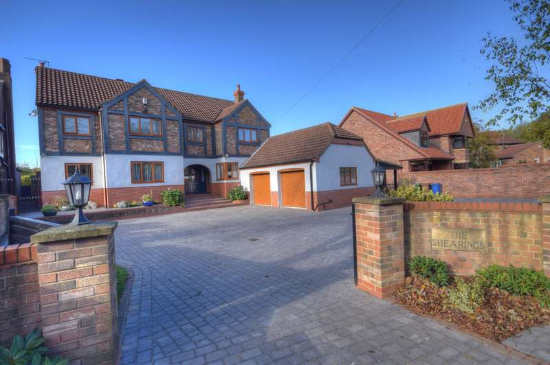 5 Bedrooms Detached House for sale in Sheeprake Lane, Sewerby, Bridlington, YO15 1DT