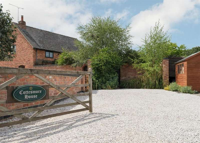 4 Bedrooms Barn Conversion Character Property for sale in Callans Lane, Calke, Nr. Ashby-de-la-Zouch