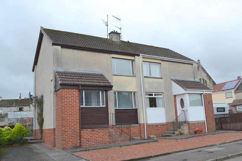 2 Bedrooms Semi Detached House for sale in 14 Paduff Place, KILBIRNIE, KA25 7AR