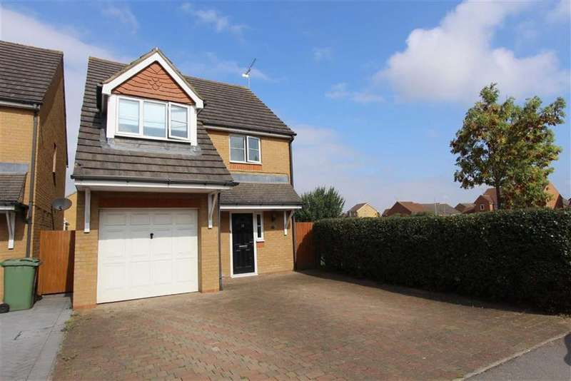 3 Bedrooms Detached House for sale in Mannock Way, Leighton Buzzard