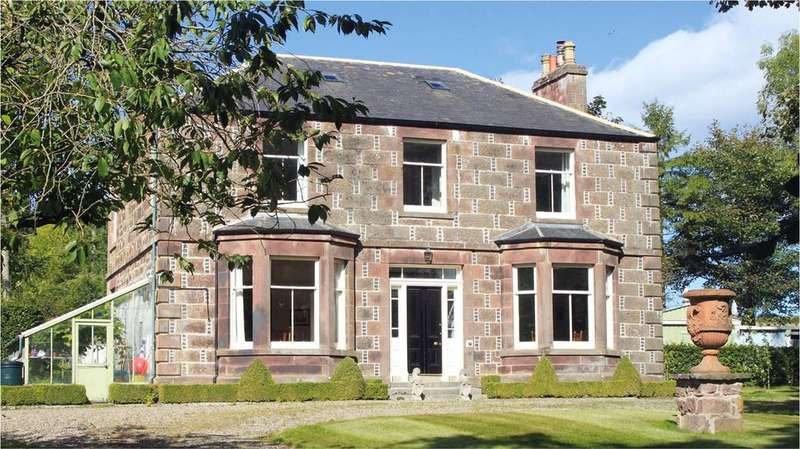 6 Bedrooms Detached House for sale in Burnside House, Turriff, Aberdeenshire, AB53