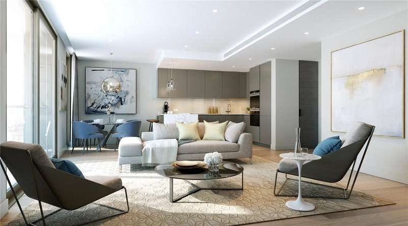 4 Bedrooms Flat for sale in 3 Canalside Walk, North Wharf Road, London, W2