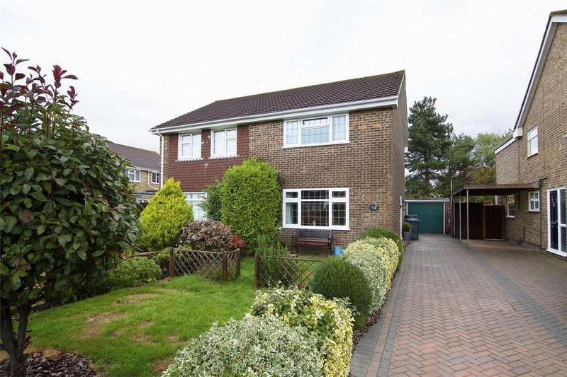 3 Bedrooms Semi Detached House for sale in Skipper Way, Lee-on-the-Solent, Hampshire