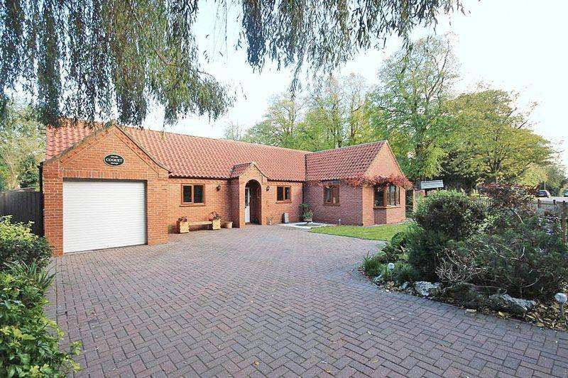 3 Bedrooms Detached Bungalow for sale in CARLTON ROAD, MANBY