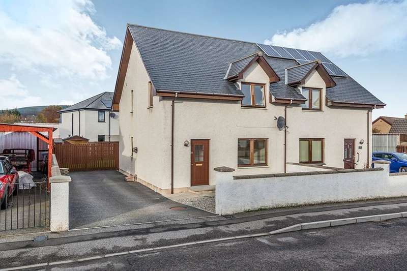 3 Bedrooms Semi Detached House for sale in Kendal Crescent, Alness, IV17