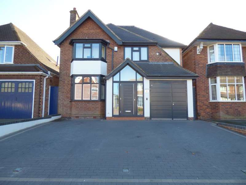 5 Bedrooms Detached House for sale in St Peters Road, Harborne, Birmingham, B17 0AT