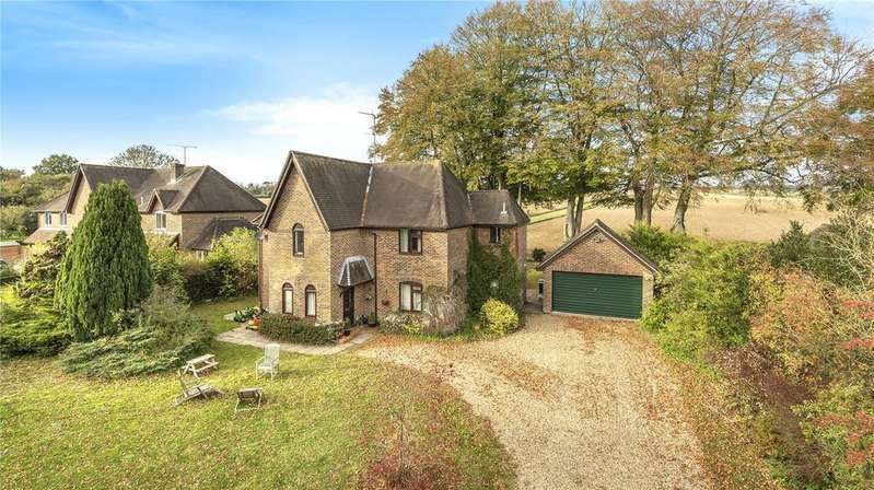 4 Bedrooms Detached House for sale in Old Station Road, Itchen Abbas, Winchester, Hampshire, SO21