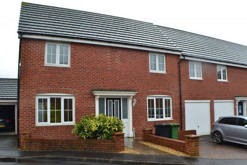 3 Bedrooms Semi Detached House for sale in Yeomanry Close Thatcham