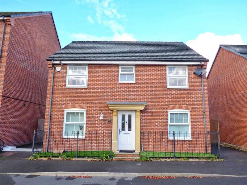4 Bedrooms Detached House for sale in Hawkins Close, Blackley, Manchester, M9