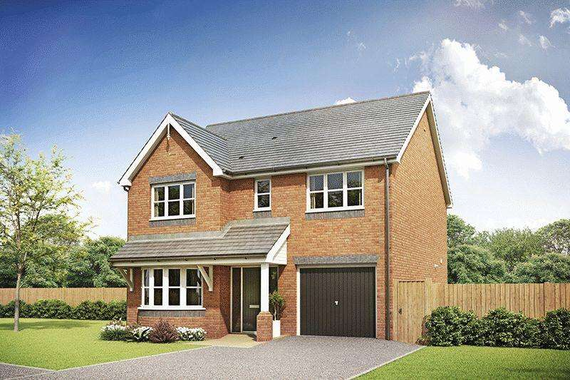 4 Bedrooms Detached House for sale in Hanslei Fields, Ansley, CV10 9PS (Nightingale Design)