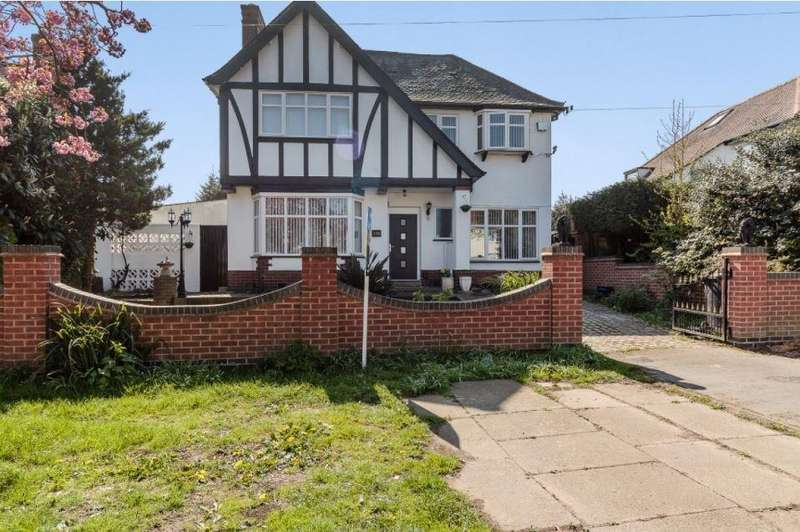 4 Bedrooms Detached House for sale in Hinckley Road, Leicester, LE3