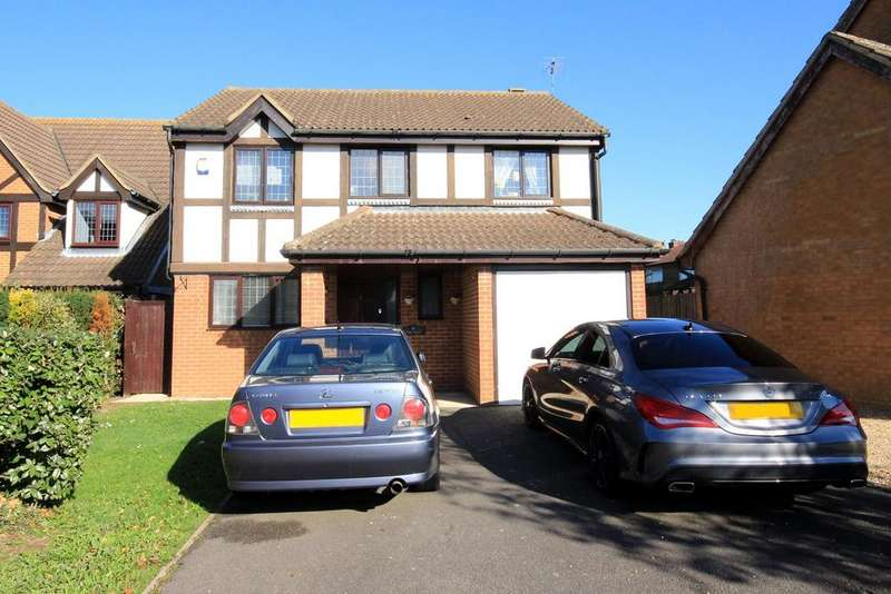 4 Bedrooms Detached House for sale in Rose Walk, Toddington, LU5