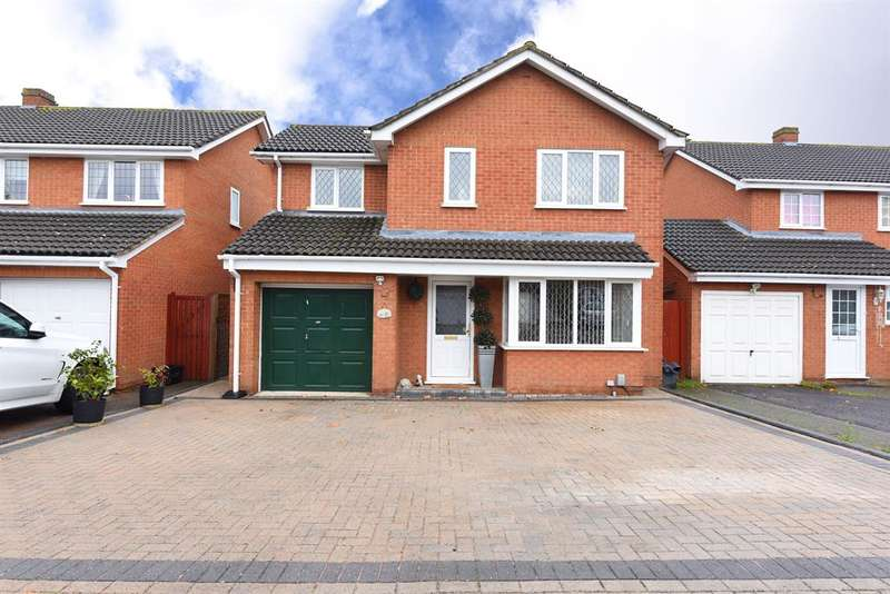 4 Bedrooms Detached House for sale in Doddington Close, Lower Earley, RG6 4BJ