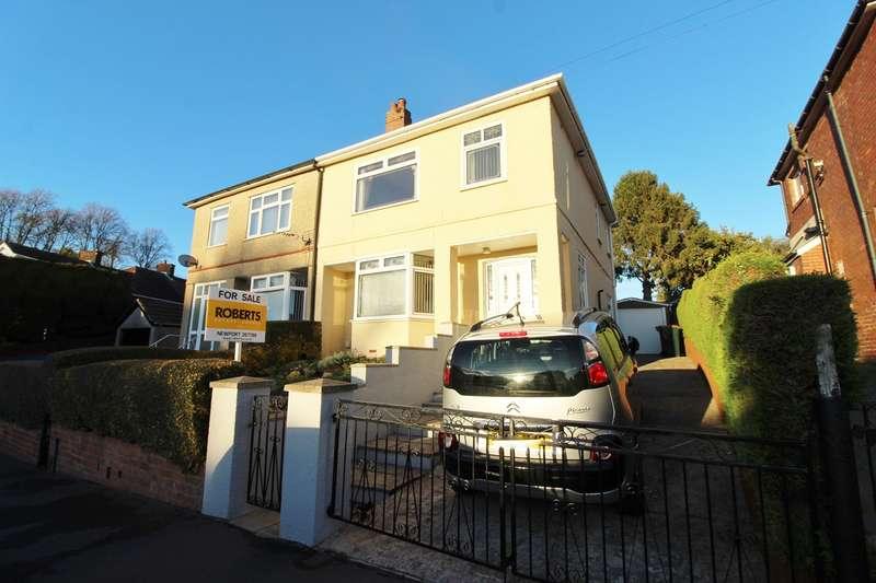 3 Bedrooms Semi Detached House for sale in Beechcroft Road, Newport, NP19
