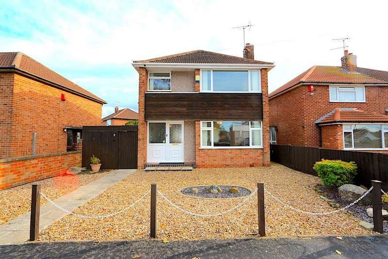 3 Bedrooms Detached House for sale in The Osiers, Braunstone Town