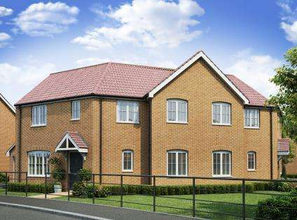 3 Bedrooms Semi Detached House for sale in Plot 44 - The Coronation, Cowley Park, Donington