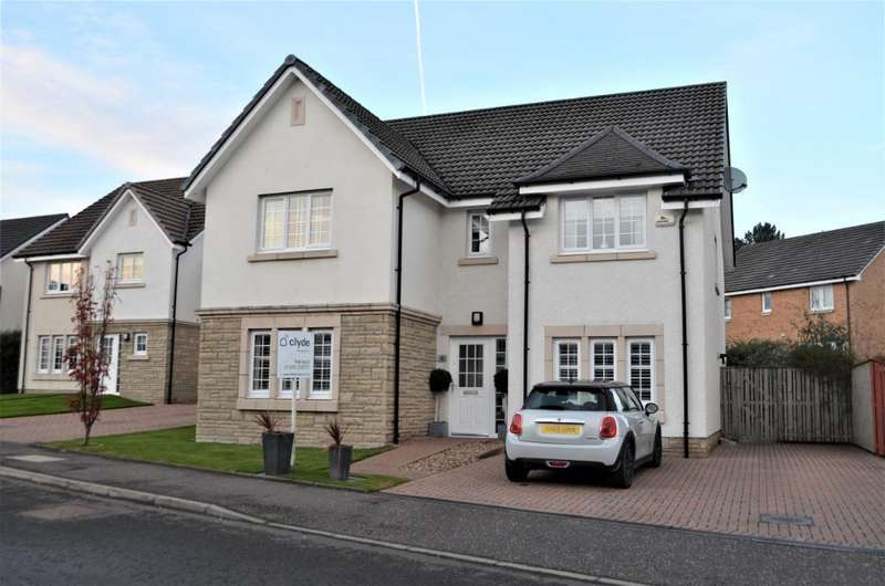 5 Bedrooms Detached House for sale in Gadwall Grove, Motherwell, North Lanarkshire, ML1 2FQ