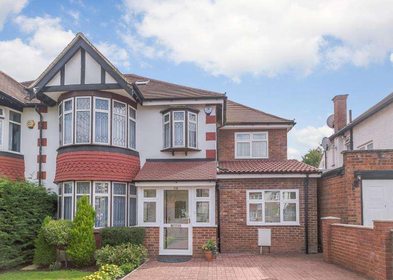6 Bedrooms Semi Detached House for sale in Holt Road, Wembley, Middlesex