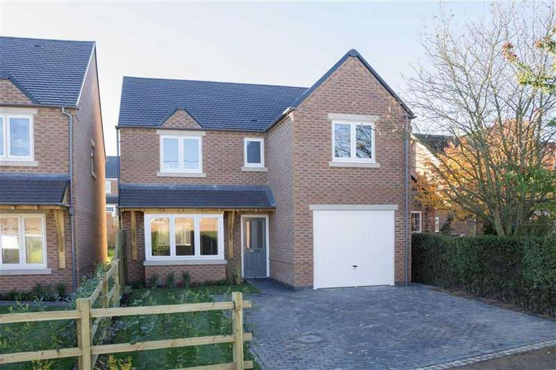 4 Bedrooms Detached House for sale in Plot 1 - Jolly Farmer's Lane, Shepshed, LE12