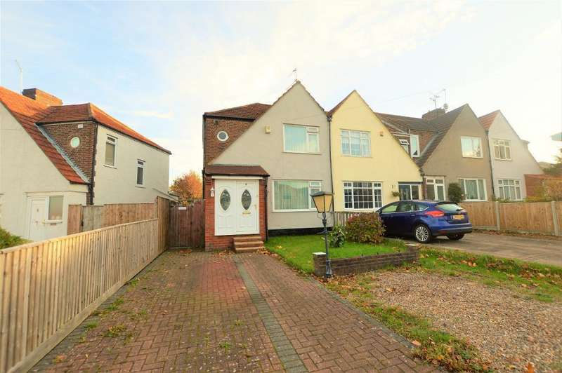 3 Bedrooms End Of Terrace House for sale in Southfields Road, Dunstable, Bedfordshire, LU6 3EJ