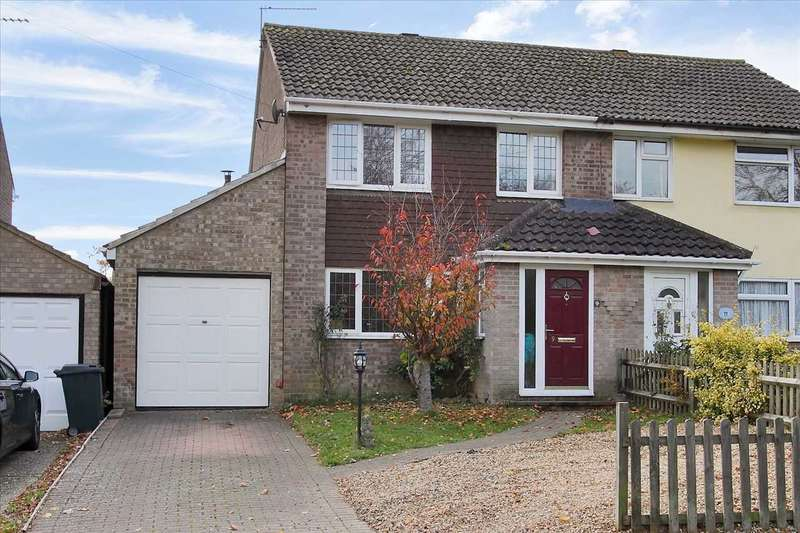 4 Bedrooms Semi Detached House for sale in Highland Drive, Oakley