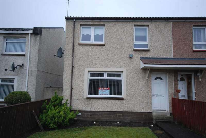 3 Bedrooms End Of Terrace House for sale in Darg Road, Stevenston